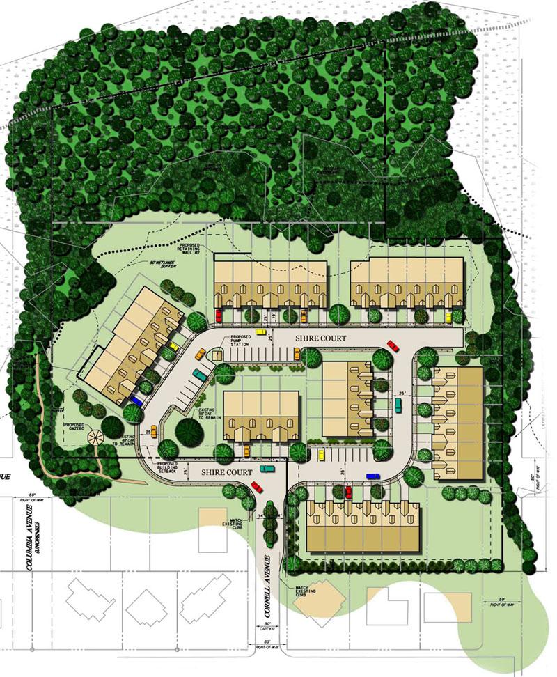 Brightview senior living floor plans for Senior housing building plans