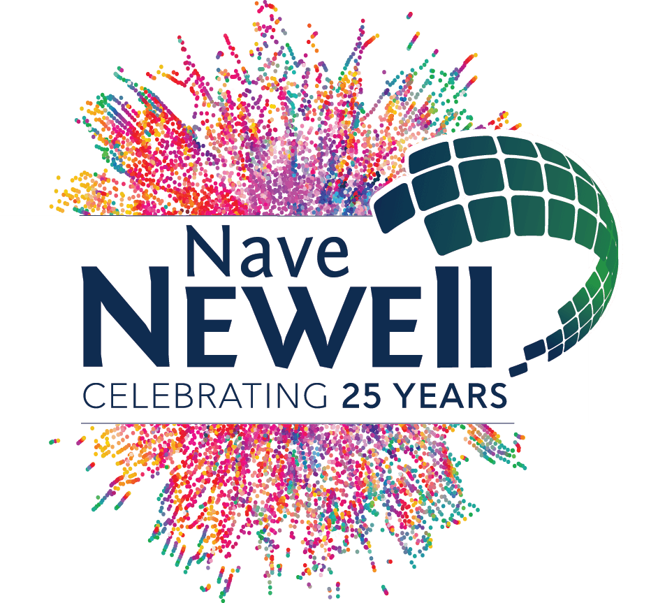 NaveNewell_25Logo_confetti