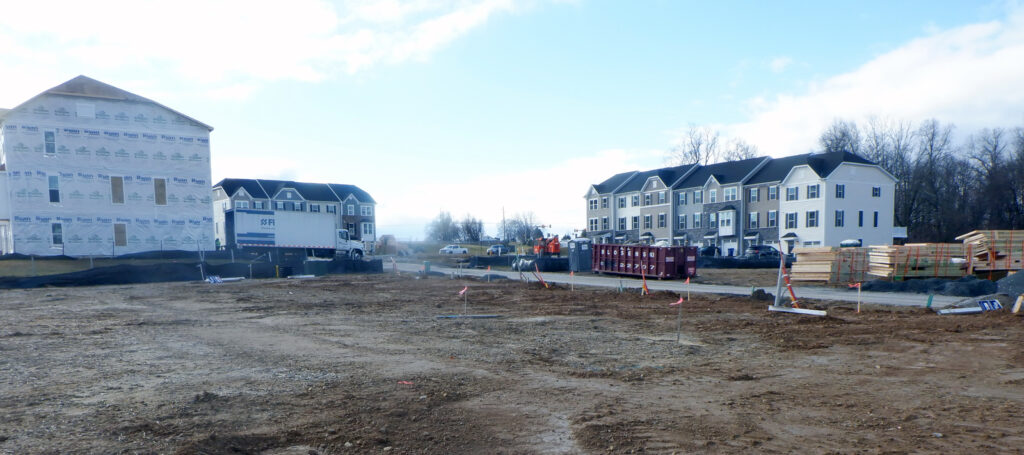 Construction Photo of Mapleview Townhomes
